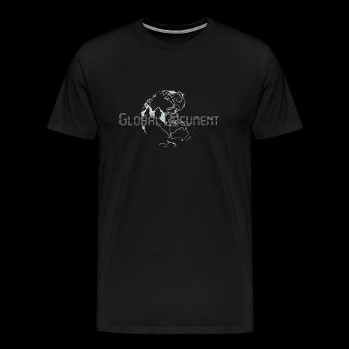 Global Document Whtie - Männer Premium T-Shirt