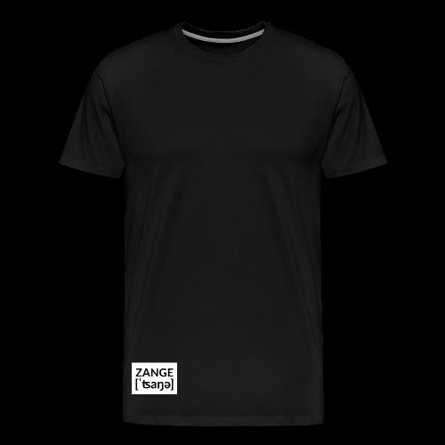 Kleine Zange Untenrum - Männer Premium T-Shirt
