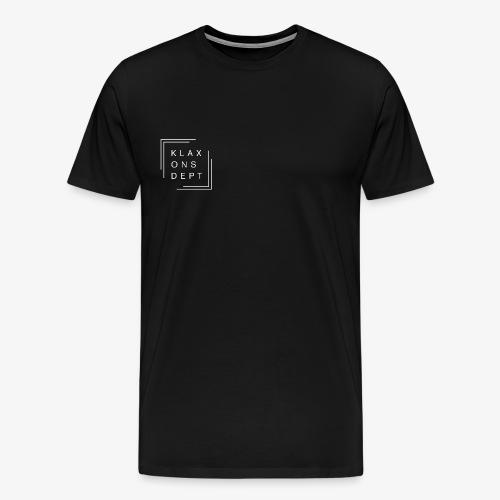 Klaxonsdept Logo - Männer Premium T-Shirt