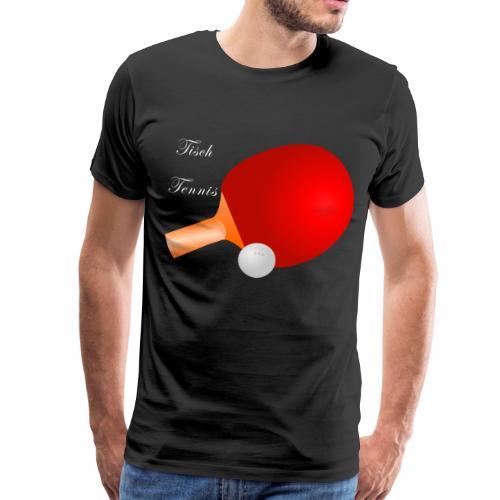 Tischtennis - Männer Premium T-Shirt