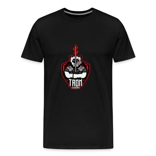 Tron-Gaming-Logo-Transparent - Männer Premium T-Shirt