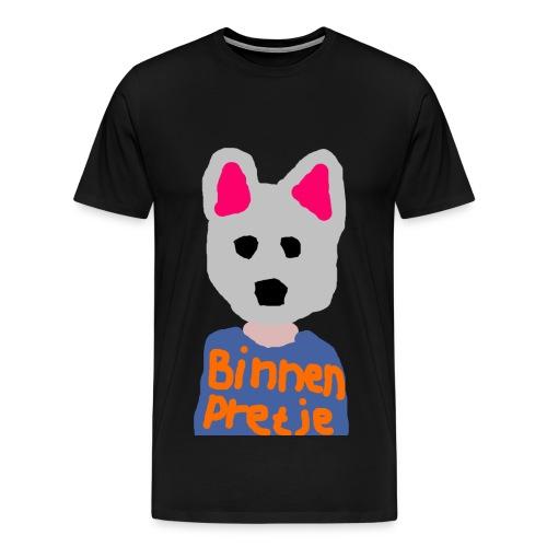 Binnenpretje T-shirts - Mannen Premium T-shirt