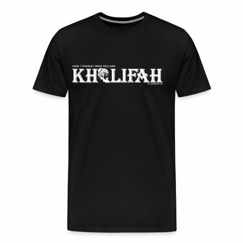 Khalifah white - Männer Premium T-Shirt