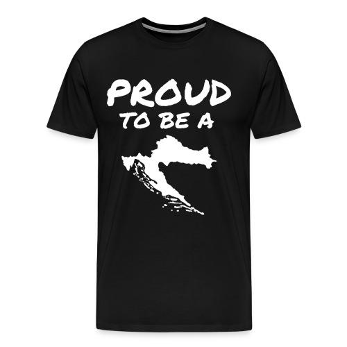 PTBAC white - Männer Premium T-Shirt
