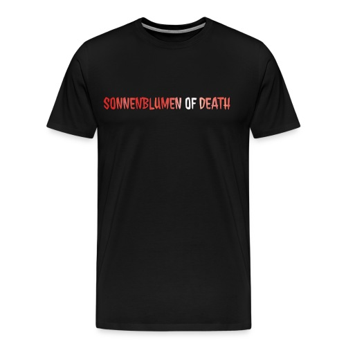 Sonnenblumen of Death Logo - Männer Premium T-Shirt