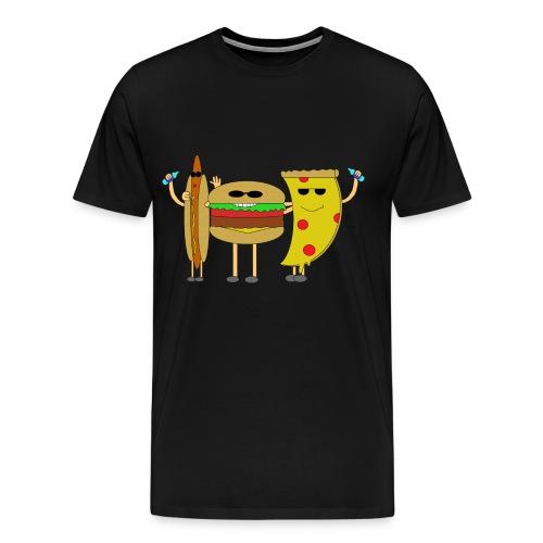 Fast Food - Männer Premium T-Shirt