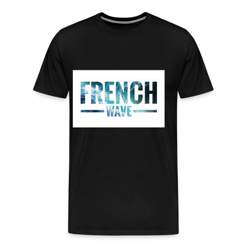 FRENCH WAVE LOGO - T-shirt Premium Homme