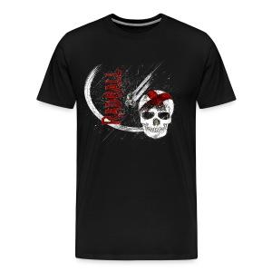 Radball   Cycle Ball Skull - Männer Premium T-Shirt