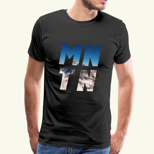 Mountain - Männer Premium T-Shirt