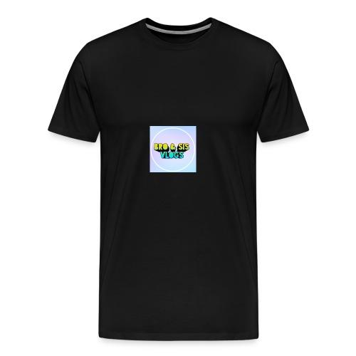 Bro & sis vlogs merch - Men's Premium T-Shirt