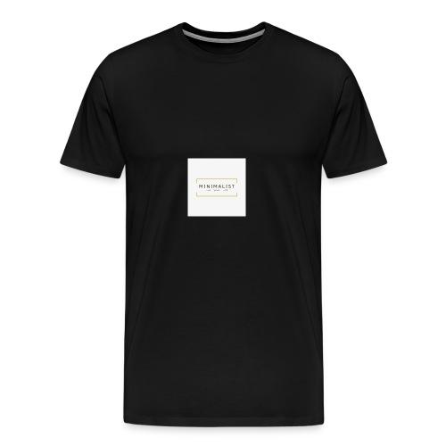 Minimalist - T-shirt Premium Homme