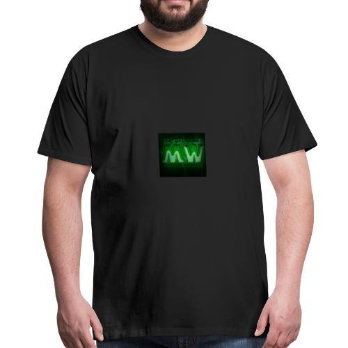 logo mysterywing - Herre premium T-shirt