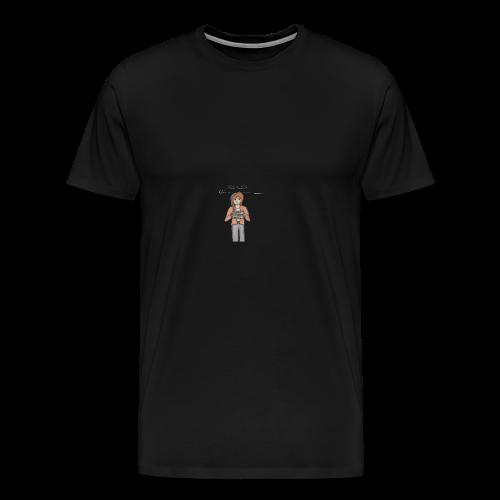 Free Alexia Design (Transparent) - Men's Premium T-Shirt