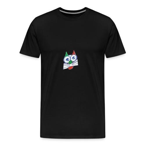 miao_traspa-png - Maglietta Premium da uomo