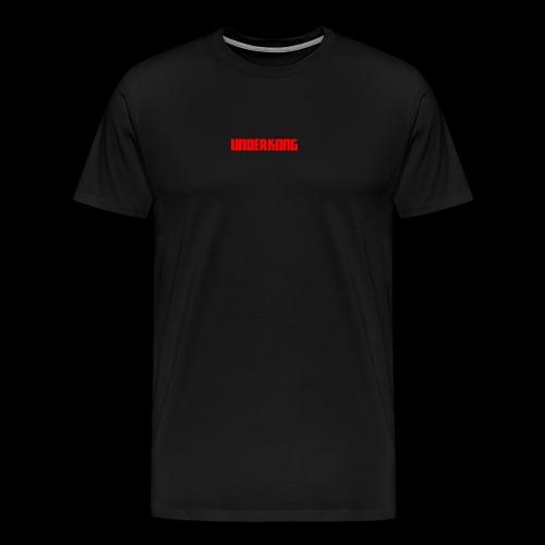 Underkong Logo text Text - T-shirt Premium Homme