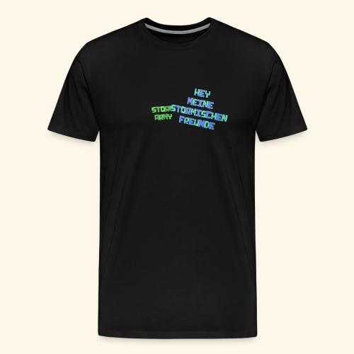 Stormischer Merchandise - Männer Premium T-Shirt