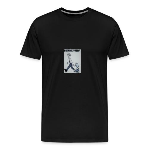 Drømmejobben til barnevernet - Premium T-skjorte for menn