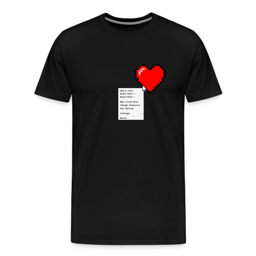 Options of the heart - Herre premium T-shirt