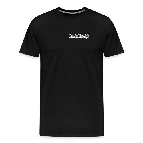Chuchichaeschtli shirt Black - Männer Premium T-Shirt