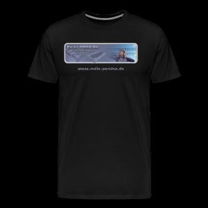 Radio PARALAX Classic-Logo mit Webadresse - Männer Premium T-Shirt