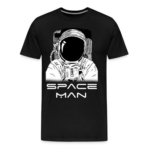 Space man white - Men's Premium T-Shirt