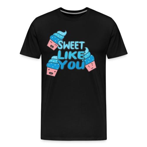 Süß wie du Eis Sketch Shirts Sommer Geschenkidee - Männer Premium T-Shirt