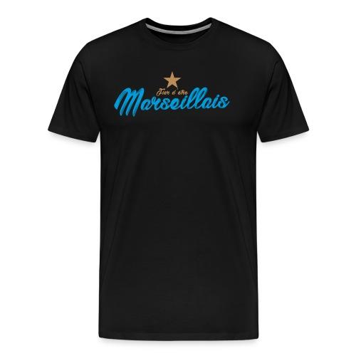 Collection Fier d'être Marseillais - T-shirt Premium Homme