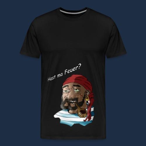 betrunkener Pirat 2.0 - Männer Premium T-Shirt