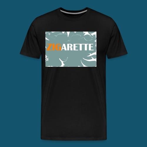 Zigarette - Männer Premium T-Shirt
