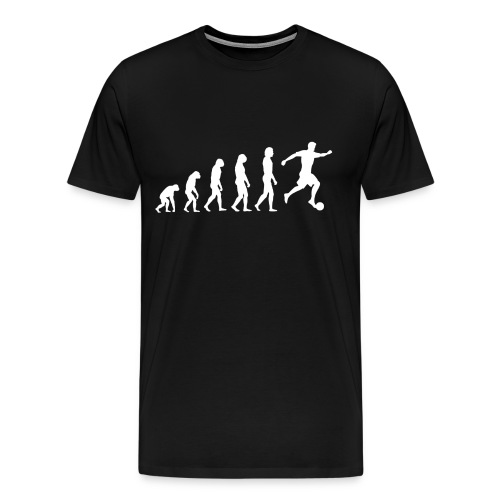 fußball evolution - Männer Premium T-Shirt
