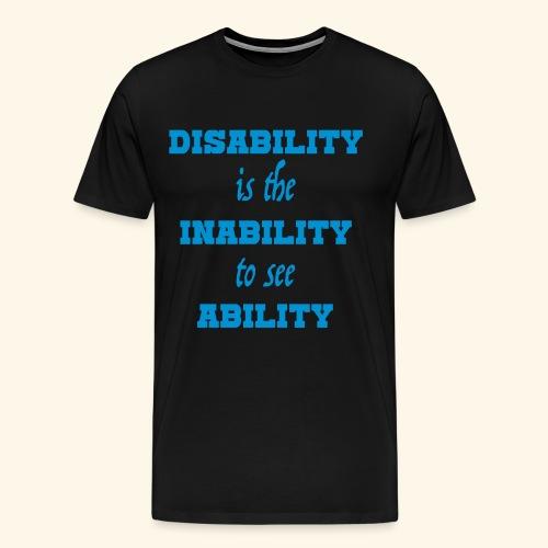 Ability4 - Mannen Premium T-shirt
