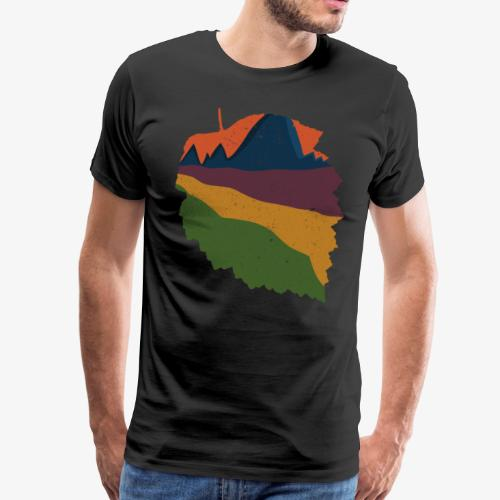 Natur im Herbst - Männer Premium T-Shirt