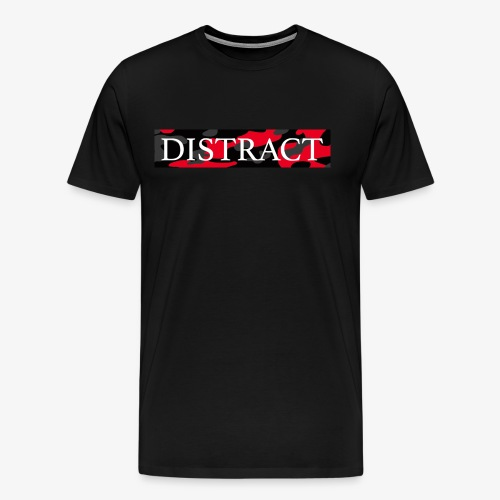 Distract - Mannen Premium T-shirt