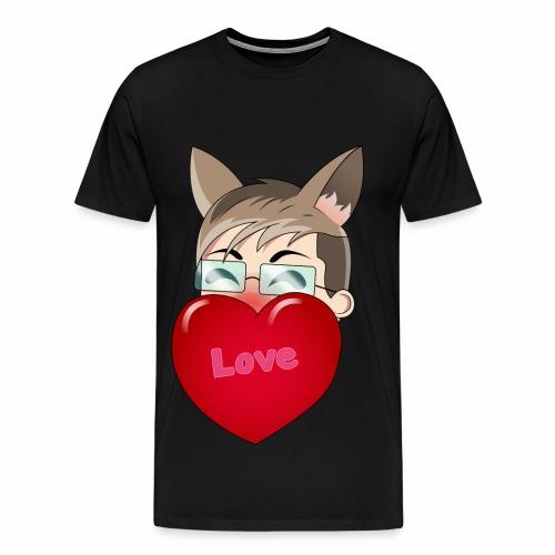 Yukiteru Herz - Männer Premium T-Shirt