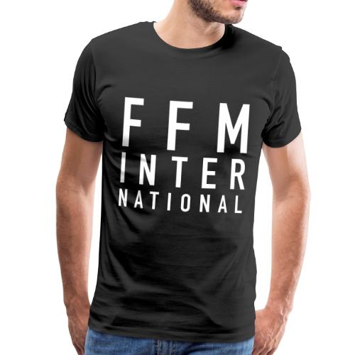 FFM INTERNATIONAL White - Männer Premium T-Shirt