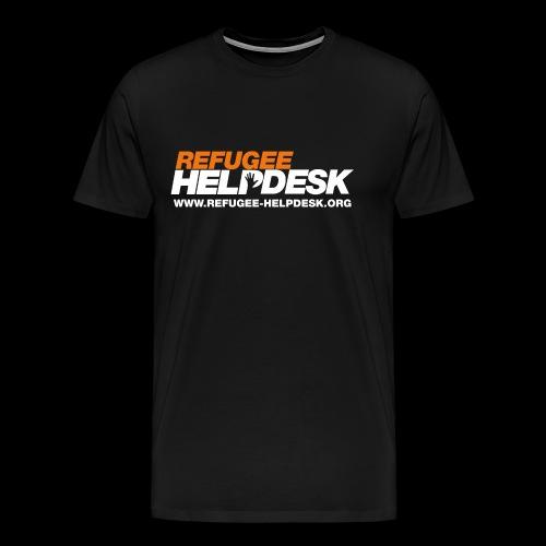 Refugee Helpdesk Logo (Bright) - Männer Premium T-Shirt