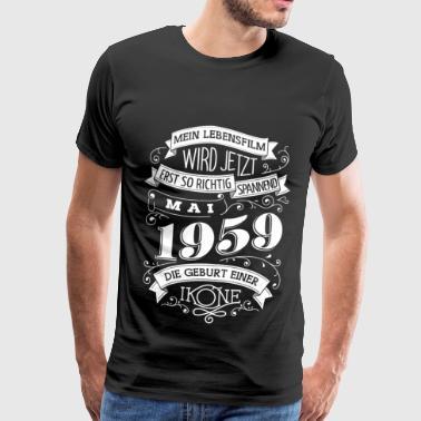 Mai 1959 Die Geburt einer Ikone - Männer Premium T-Shirt