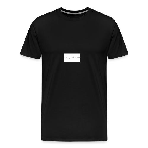 Raffigura un senso importante della vita - Maglietta Premium da uomo