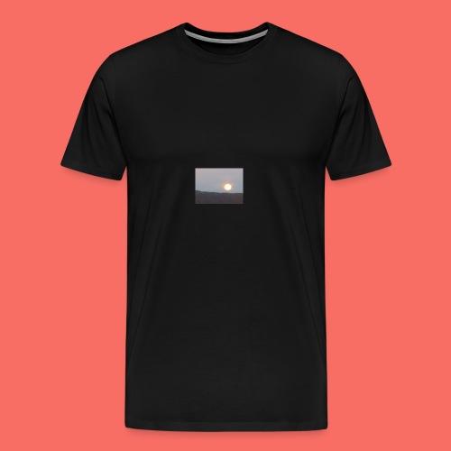 MÅNE ÖVER NORDNORGE - Premium-T-shirt herr