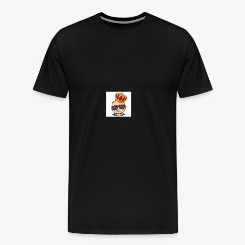 My king - Premium-T-shirt herr