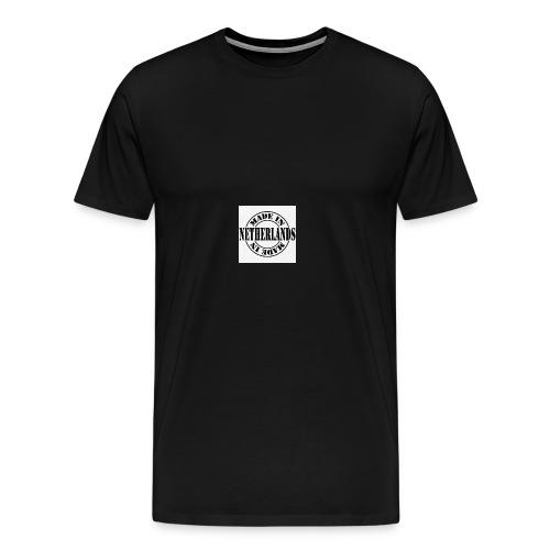 made in the Netherlands - Mannen Premium T-shirt