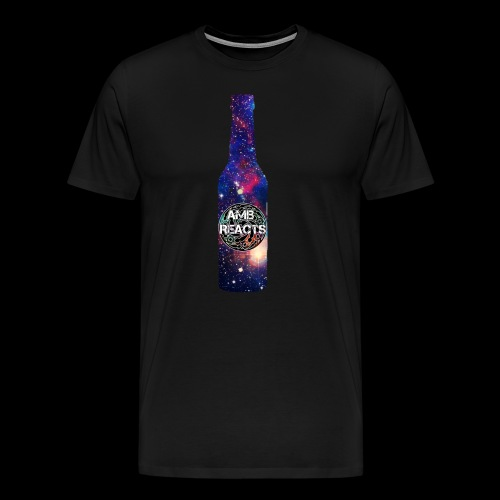 Space beer bottle logo - Men's Premium T-Shirt