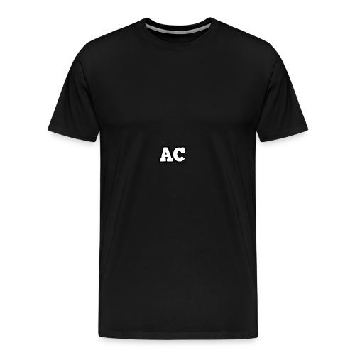 AC blur logo - Men's Premium T-Shirt