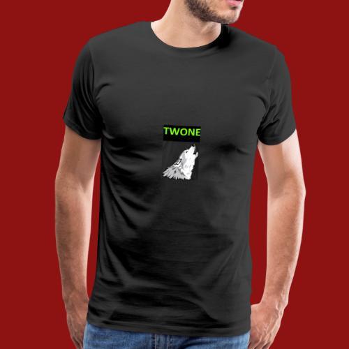 Offizielles Logo von der Band Twone - Männer Premium T-Shirt