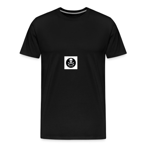 skull-and-bones-pirates-jpg - Mannen Premium T-shirt