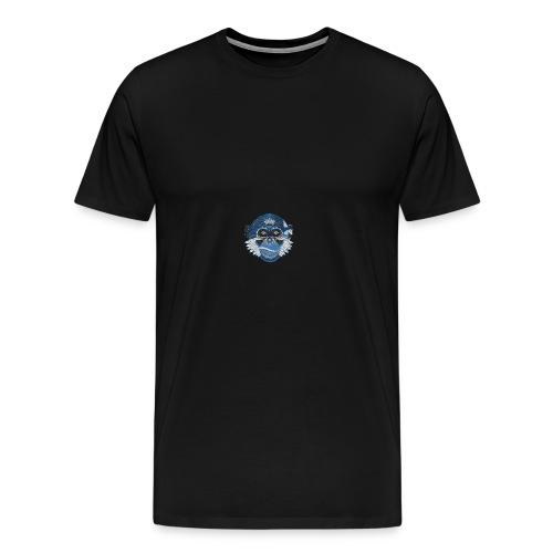 T-SHIRT PSYCO SCIMMIA - Maglietta Premium da uomo
