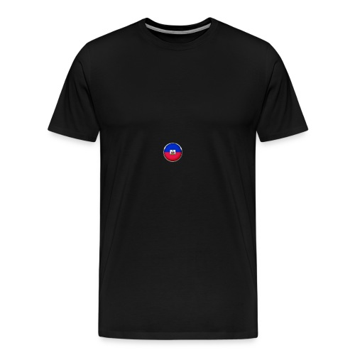 haiti drapeau - T-shirt Premium Homme