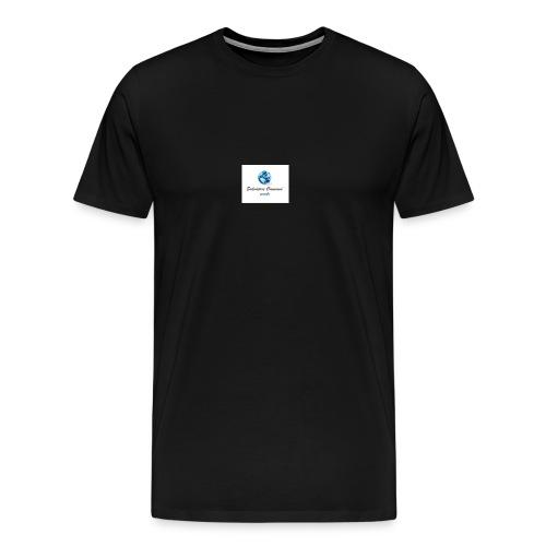 logo youtube - Maglietta Premium da uomo