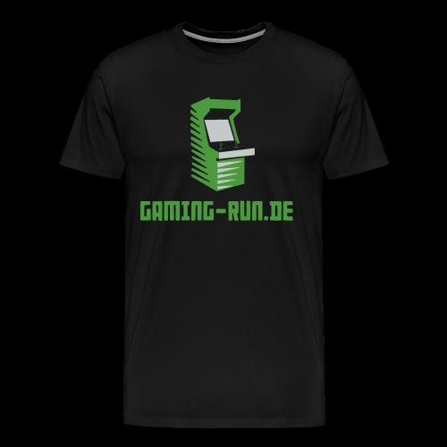 Gaming-Run.de - Männer Premium T-Shirt