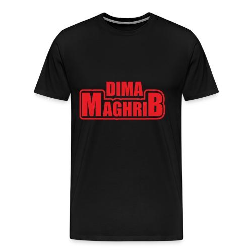 Moroccan national team -DIMA MAGHRIB - Mannen Premium T-shirt